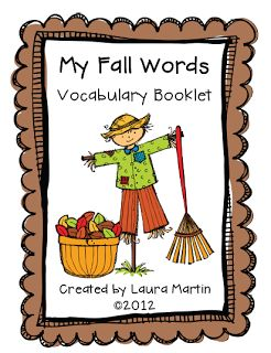 Classroom Freebies Too: Fall Words