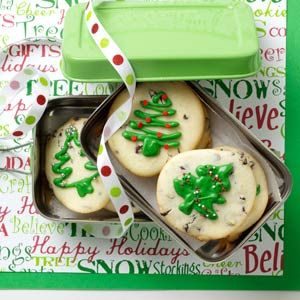 Creme de Menthe Cheesecake Cookies Recipe from Taste of Home -- shared by Sheila Sporn of Houston, Texas