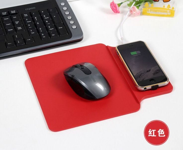 New Style Mouse Pad Phone Charger Qi Wireless Charger Charging Pad for Samsung Galaxy S6 / S6 Edge