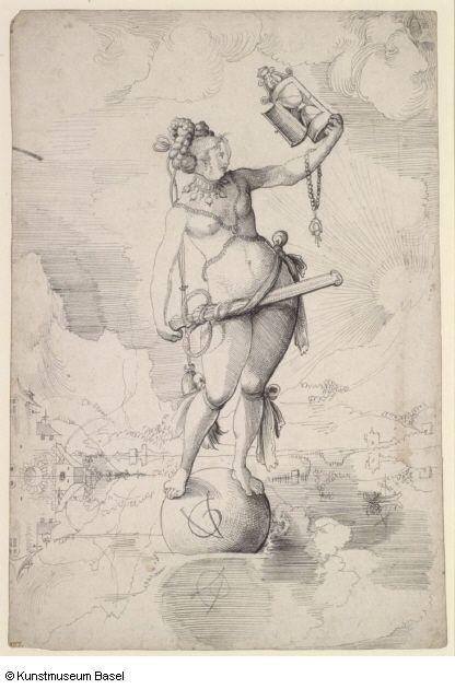 Artist: Graf, Urs, TItle: Allegorie des Kriegsglückes, Date: 1516-1518
