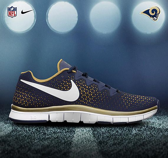 NIKE FREE HAVEN 3.0 – 2012 NFL DRAFT PACK Rams