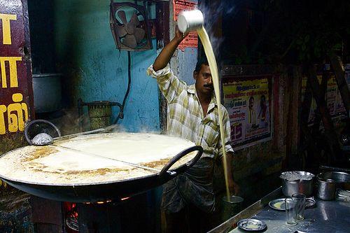 Chai making possibly in Tamil Nadu