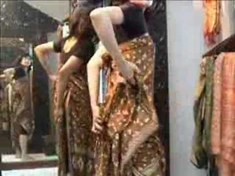 How to wear a sarong 4 - YouTube