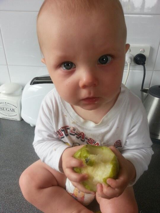 my pear. get it? mine! :-)