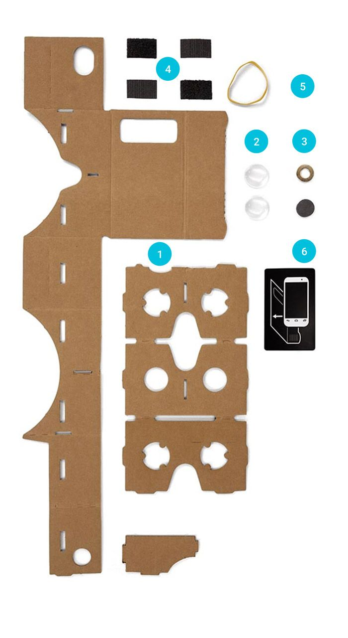 DIY Google Cardboard Virtual Reality (VR) Viewer