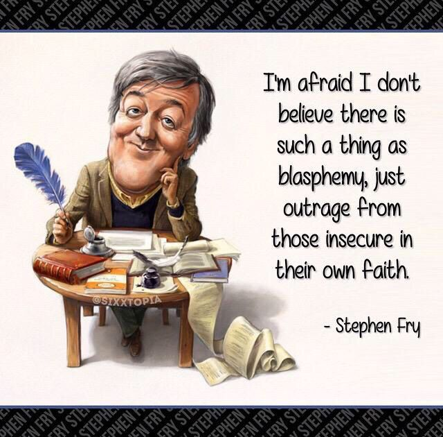 Blasphemy • Stephen Fry