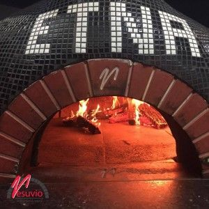 Society Catering – Bondi NSW, Australia  GR140 Wood fired oven from Valoriani  Society Catering and Bondi Pizza pride themselves on being bold and their wood fire oven is no exception. With strong black and white tiling to match their sleek business image the Valoriani oven brings tradition and modern together.