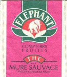 Elephant - Thé à la Mure Sauvage.  I loved this tea