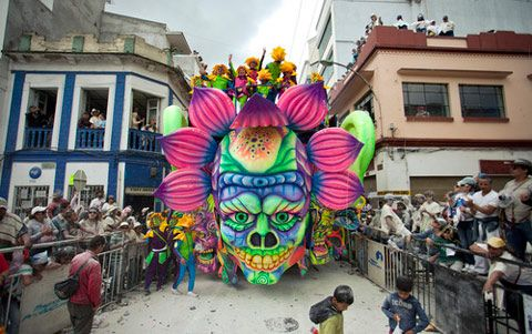 Photographer Fernando Decillis traveled to Pasto, Colombia for the elaborate Carnaval de Negros y Blancos, a five day festival celebrating the Epiphany that has been a tradition since 1912.