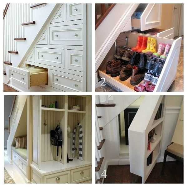 1000+ Ideas About Staircase Storage On Pinterest