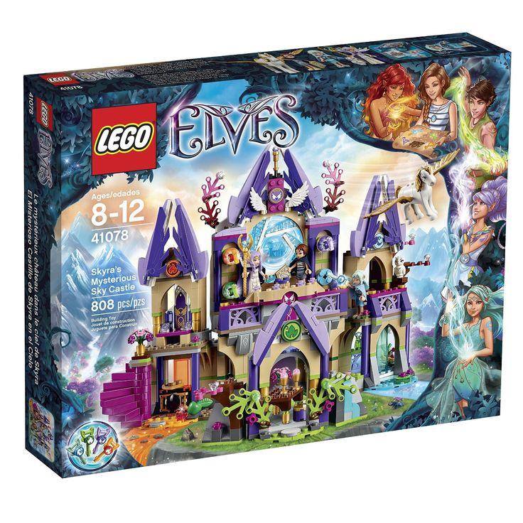 LEGO Elves 41078 Skyra's Mysterious Sky Castle Building Kit