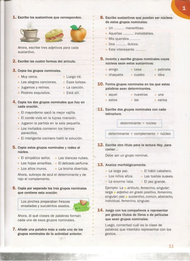 Lengua 6º Primaria Santillana Food Fruit Fails