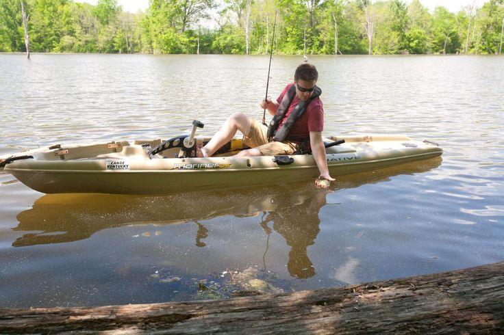 How to pick the best fishing kayak? Nathan Depenbrock of Canoe Kentucky of  Elkhorn Creek says it's about price, length, speed & suitability