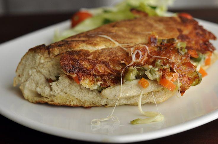 Grilled chicken veggie Sandwich