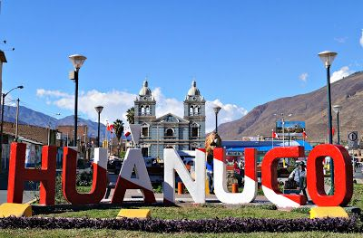 Entrance to the city of Huánuco