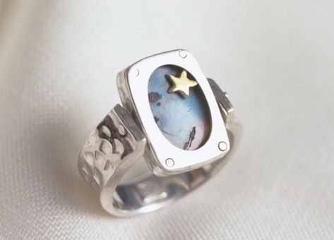 Men's Opal ring commission