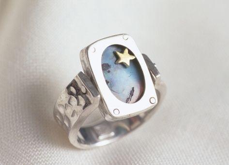 Men's Opal ring commission