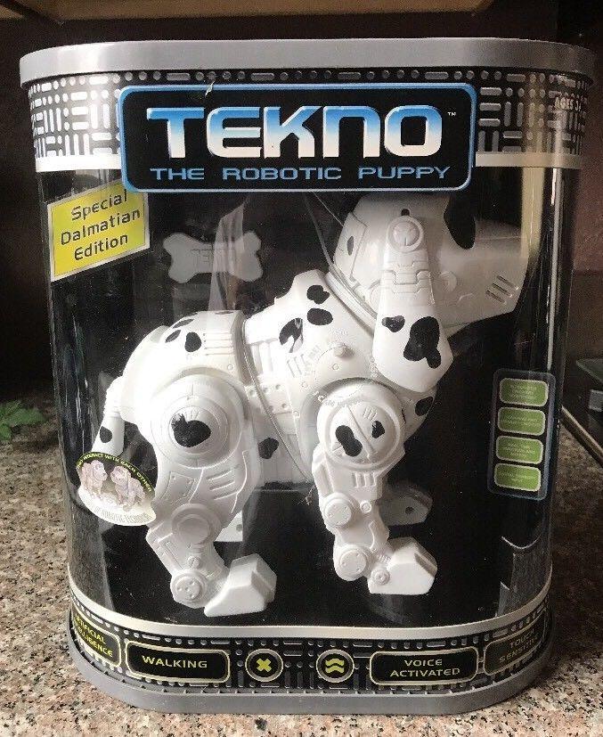 Vtg 2000 Tekno The Robotic Puppy Special Dalmatian Edition Nib