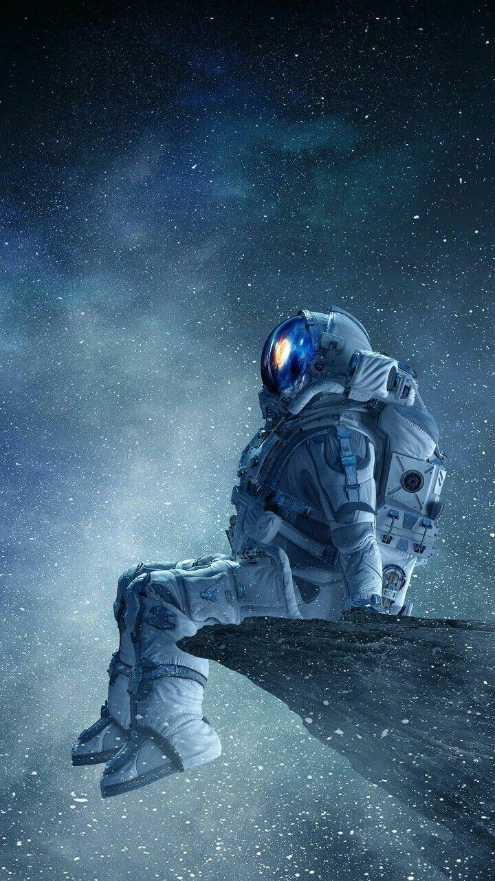 Maybe Never Return Back Image Source Pinterest Space Artwork Astronaut Wallpaper Astronaut Art