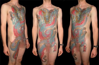 Female full frontal tattoos