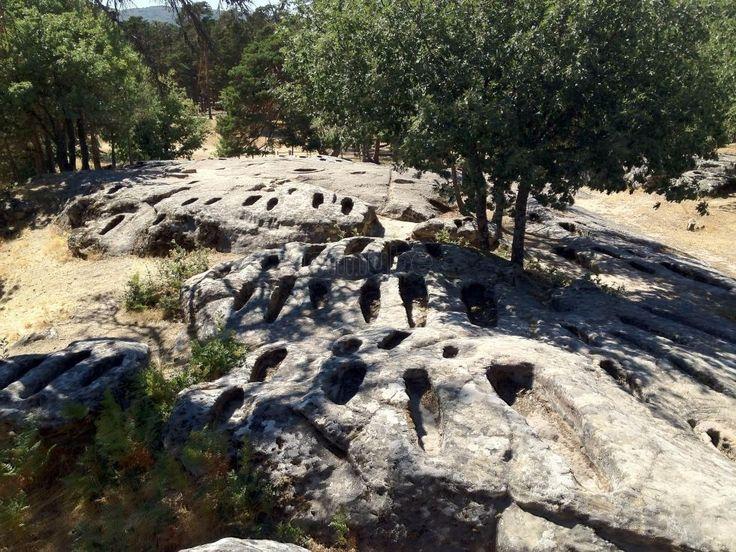Necrópolis de Revenga, Quintanar de la Sierra  #Pinares #Spain