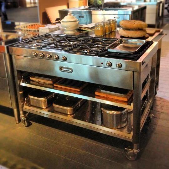 17 Ideas About Industrial Kitchen Island On Pinterest
