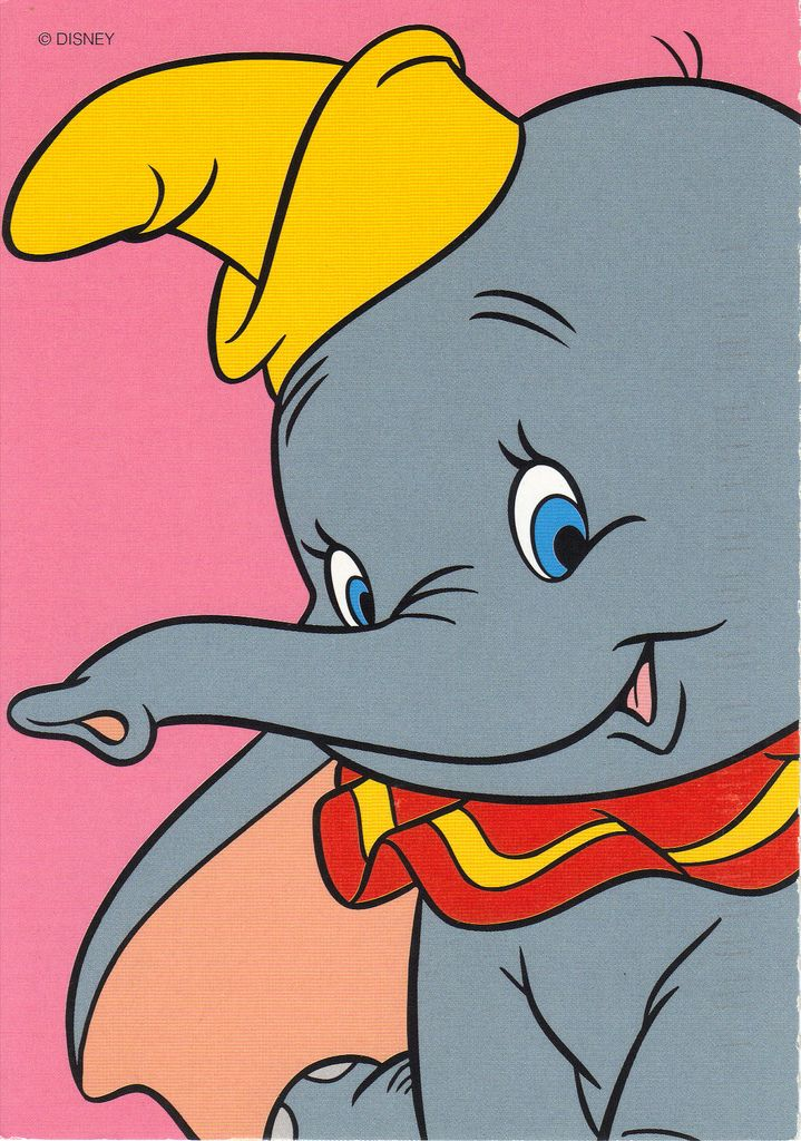 Dumbo Postcard Disney Drawings Disney Wallpaper Disney Canvas