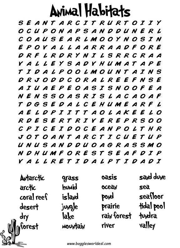 Free Word Search For Second Graders - word search spring words and on ...