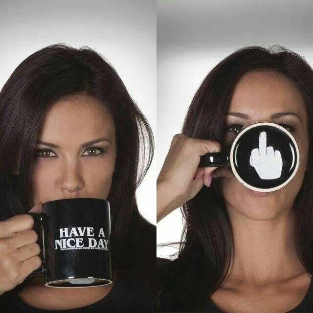 Have a nice day mug. I like