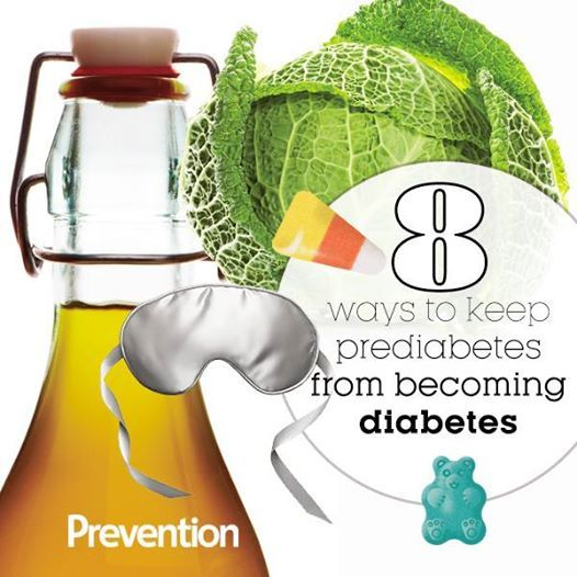 8 Ways To Keep Prediabetes From Becoming Diabetes