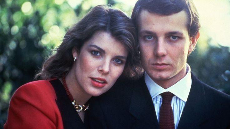 Traumpaar: Prinzessin Caroline und Stefano Casiraghi auf ihrem Hochzeitsfoto 1983.