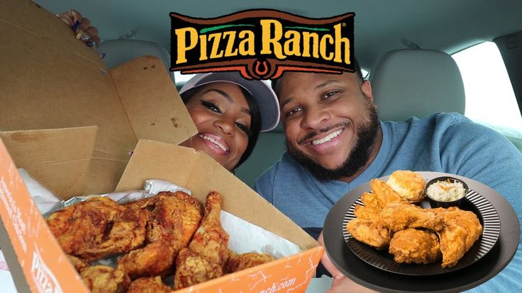 Pizza Ranch Fried Chicken, Ranch Potato Wedges, Green Beans, Mashed Pota...