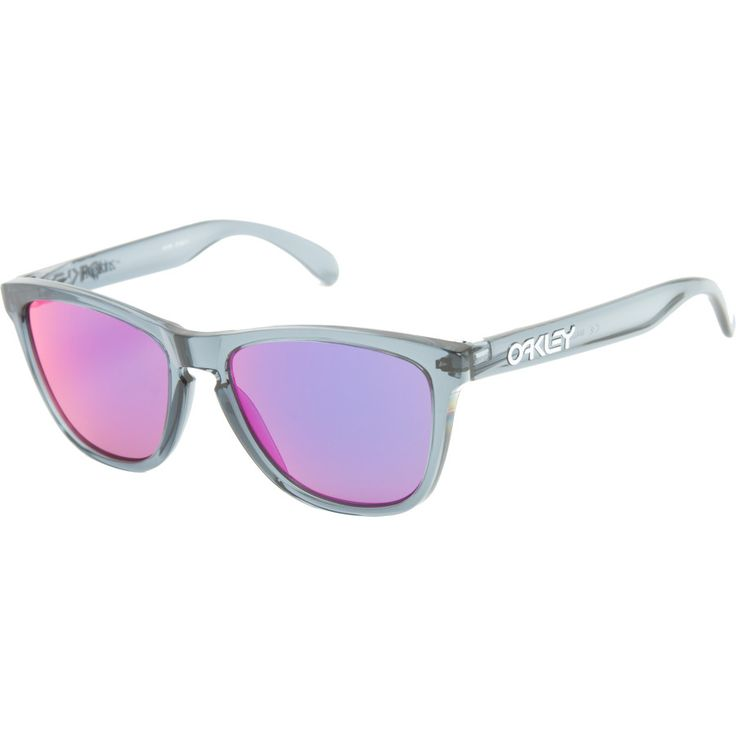 oakley frogskins crystal black sunglasses