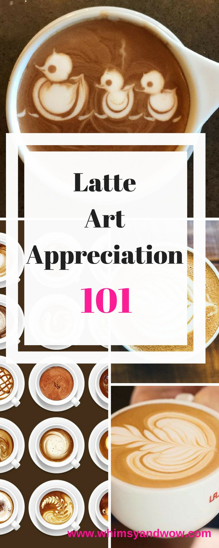 """Latte art is a big part of the popular exotic coffee trend. Baristas, servers that create these special coffees, used frothed milk to make """"art"""" on the top layer, called the crema, in lattes, cappuccinos and macchiatos"""