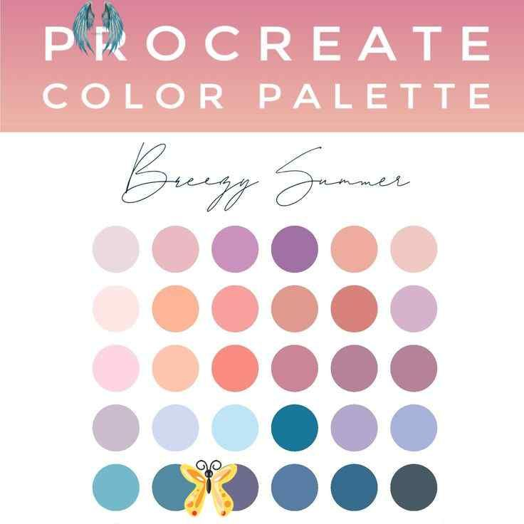 procreate color palette instant download color trend 2020 on new paint color for 2021 id=68591