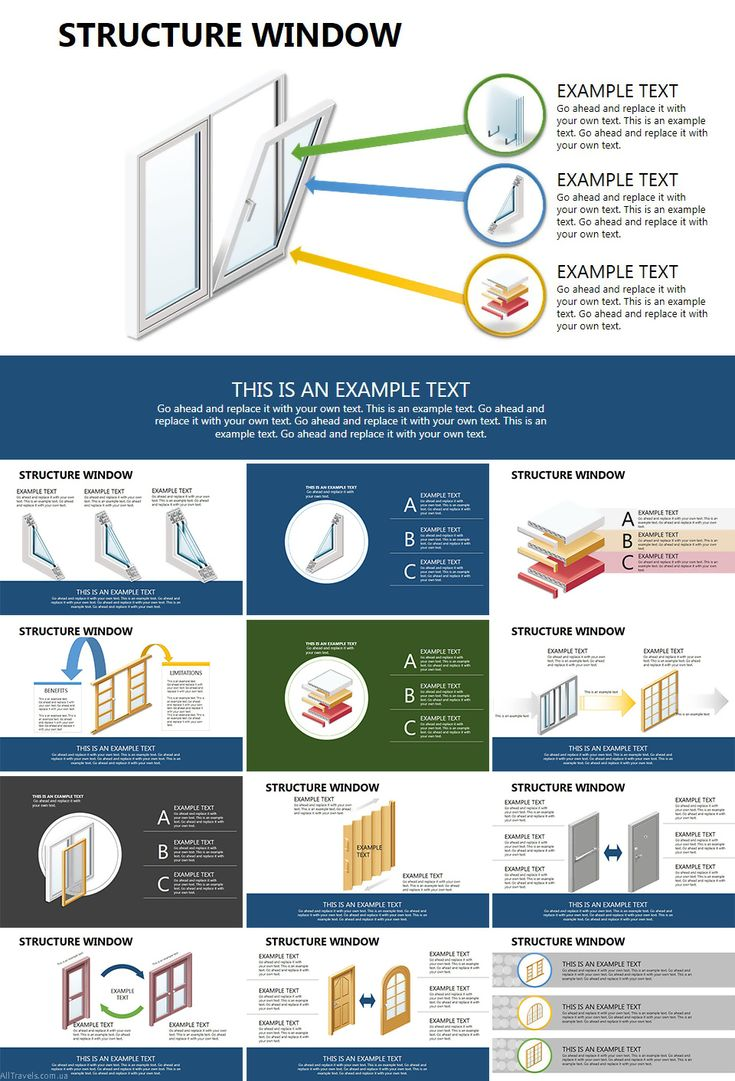 Structure Window PowerPoint diagrams - Download PowerPoint diagrams