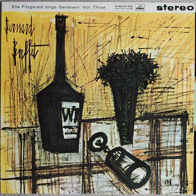 Ella Sings Gershwin Vol. 3 - Cover by Bernard Buffet  Ella Fitzgerald  HMV CSD 1299 (UK issue)  Light wear  10.00