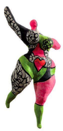 """Niki de Saint Phalle, """"Nana Figure"""""""