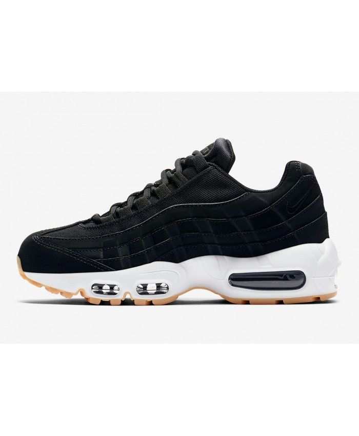 new style 14795 77d4d Nike Air Max 95 Black Anthracite Gum Light Brown Trainers