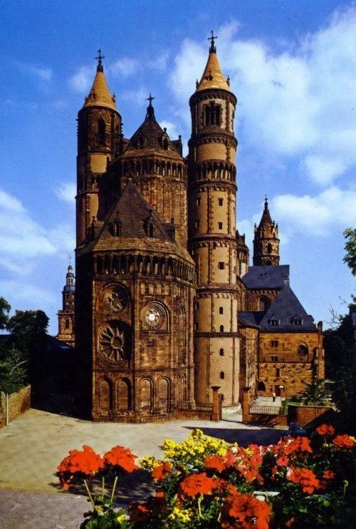 Worms, Germany where Martin Luther made his famous stand against the Catholic Church in 1521, thus launching the Protestant movement.