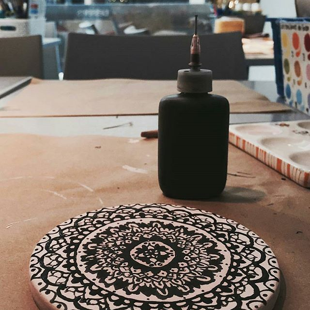 Regram @marieeveb____ ❤ beau motif 👌 #ceramiccafequebec