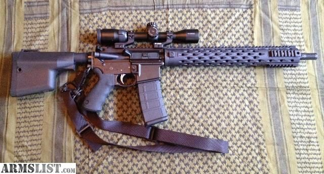 ARMSLIST - For Sale: Daniel Defense 300 Blackout Rifle for Sale. Love the Battle Ax stock and YHM Todd Jarrett Competition Length Forend.