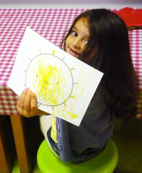 gele zon