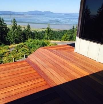 5/4x6 Mahogany Decking ~ In stock and ready to deliver! We ship Nationwide www.cclumber.com