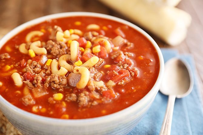 Goulash Soup Recipe In 2020 Stuffed Peppers Soup Goulash