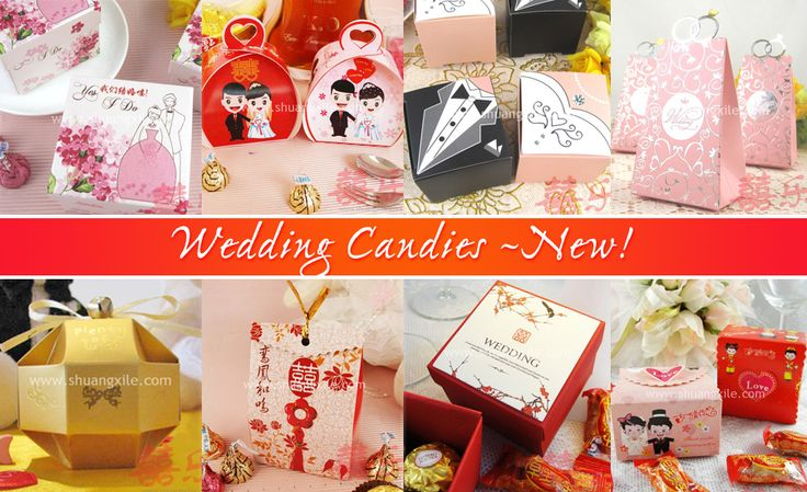 Wedding Candies by Shuang Xi Le