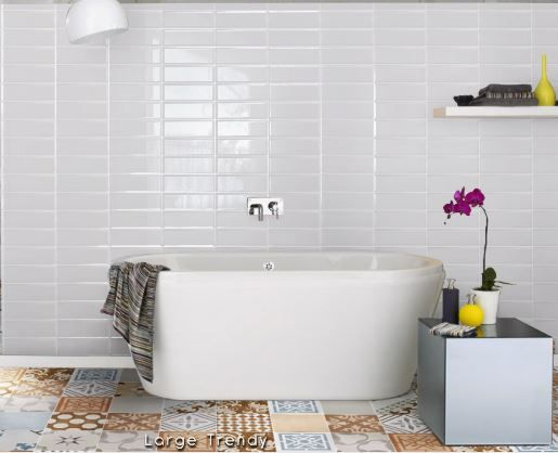 Metro Tiles Bathroom Ideas: 17 Best Images About Annabel's Bathroom On Pinterest