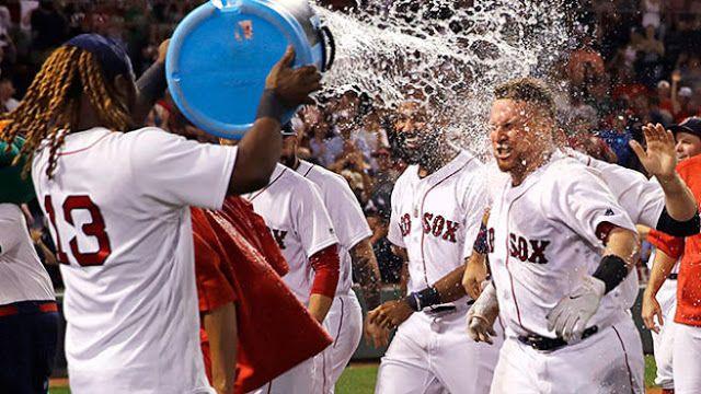 #MLB: Vázquez Medias Rojas dejaron tendidos a Indios con HR de oro en la 9na