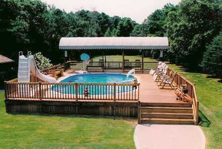 Best Price Above Ground Pool | Pools: Affordable and Comfortable semi inground swimming pools ...