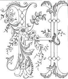 Great link for free alphabet embroidery patterns.  All letters available.  Perfect for napkins, place mats, runners, etc.